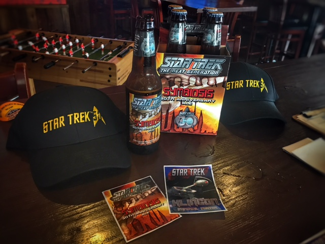 Image result for star trek convention symbiosis beer
