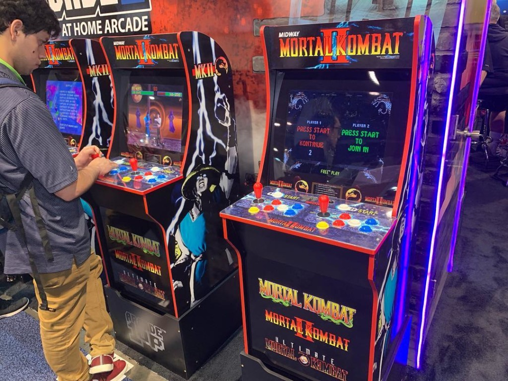 Arcade1up at CES 2019 – Bionic Buzz